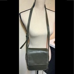 Olive Green Nine West Purse/Crossbody Bag